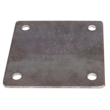 Custom Size Steel Base Punch Plate with holes
