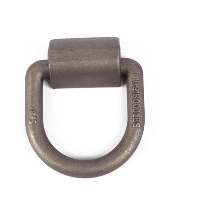Custom Made Forging Carbon Steel D Lashing Ring