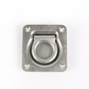 1/4'' Zinc Steel Cargo Bolt-on Lashing Ring