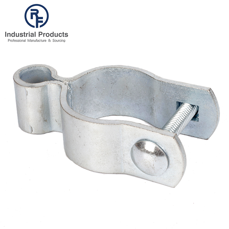 5-8''x1-5/8'' Bolt on Galvanized Gate Female Post Hinge Strap