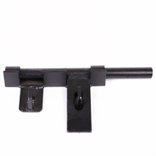 Black Podwer Coated Lockable Bar Gate Latch