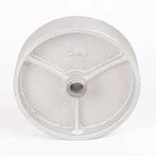 4'' or 5'' Cast Iron BBQ Wheel